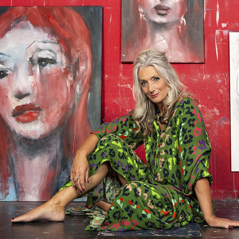 Online Academy la Vie en Rose jaartraject intuïtief portret schilderen